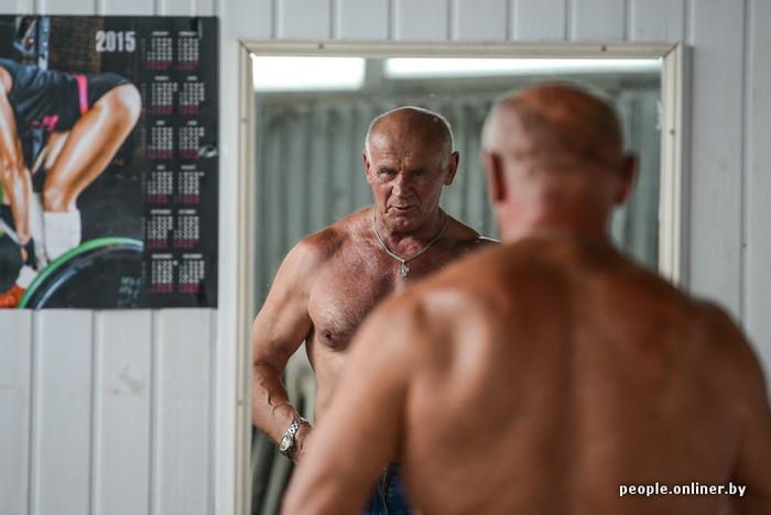Михаил Вербицкий - самый сильный «дед» в мире (14 фото + видео)