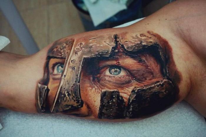 Реалистичные 3D татуировки (37 фото)