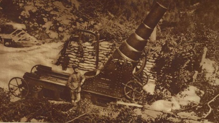 Оружие времен Первой мировой войны (66 фото)