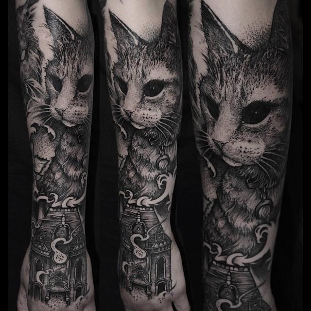 Невероятные татуировки (28 фото)