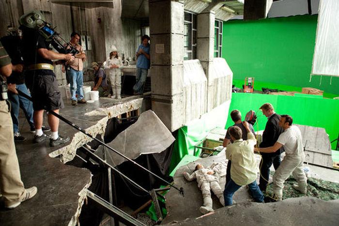 Фото со съемочной площадки научно-фантастического триллера «Начало» (26 фото)