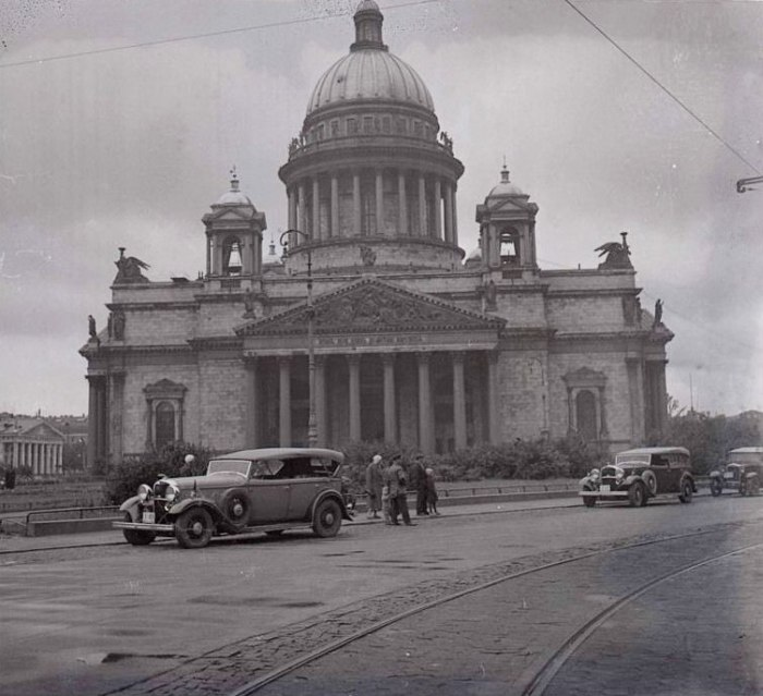 Старые фотографии Санкт-Петербурга (27 фото)
