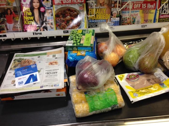 Поход в магазин среднестатистической американской семьи (6 фото)