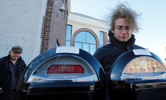 Особенности парковки перед своим частным домом в США (4 фото + текст)
