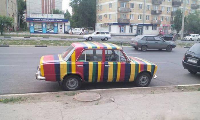 Фото, которые возможно было сделать только в России. Часть 8 (39 фото)
