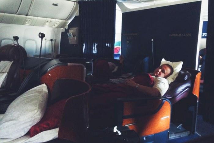 Что получает пассажир империал-класса за 100 000 рублей (15 фото)