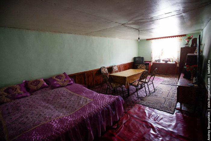 Как строят дома в одной из горных деревень Азербайджана (22 фото)