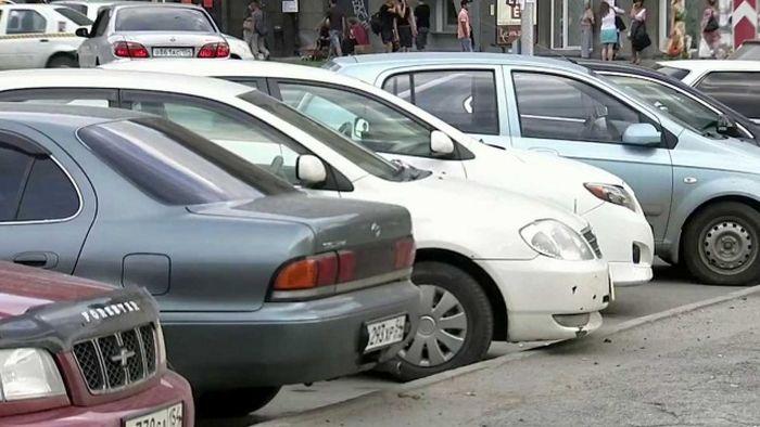 Машины-двойники на российских дорогах (3 фото)