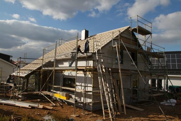 Фотоотчет о строительстве дома в Германии (115 фото)