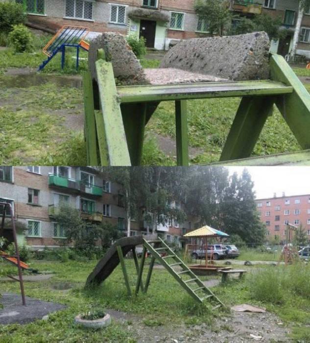 Фото, которые возможно было сделать только в России. Часть 9 (40 фото)