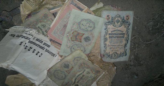 Заначка 100-летней давности (5 фото)