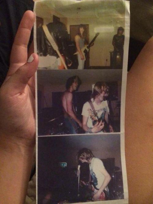 В сети появились неизвестные доселе снимки с первого концерта группы Nirvana (5 фото)