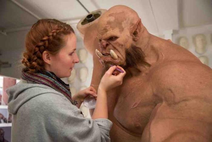 Как создаются персонажи фильма Warcraft (4 фото)