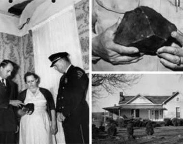 Энн Ходжес - первая женщина, пострадавшая от предмета внеземного происхождения (3 фото)