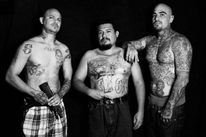 Калифорнийская банда мексиканцев (20 фото)