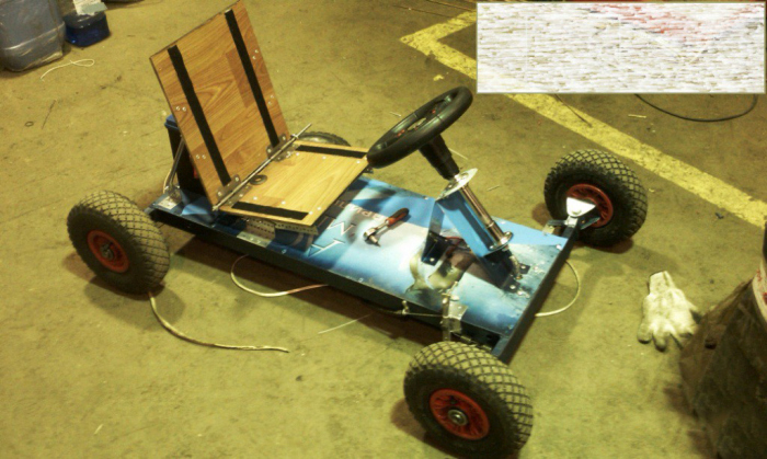 Самодельный детский электромобиль (18 фото)