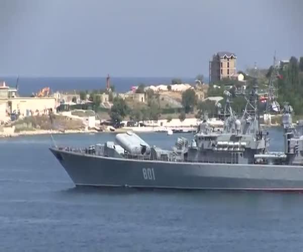 Неудачный запуск ракеты в Севастополе