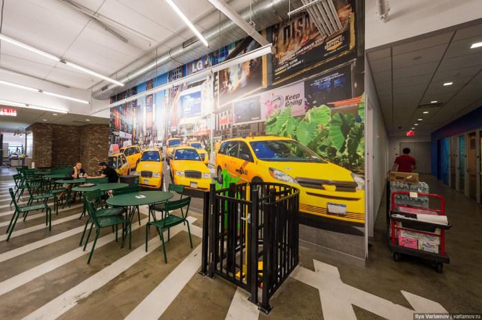 Экскурсия по офису компании Google в Нью-Йорке (52 фото)
