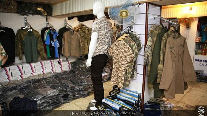 ИГИЛ опубликовал фото оружейного магазина в городе Мосул (12 фото )