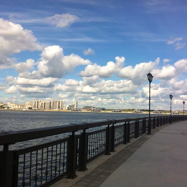 Как Казань принимает чемпионат мира по водным видам спорта (41 фото)
