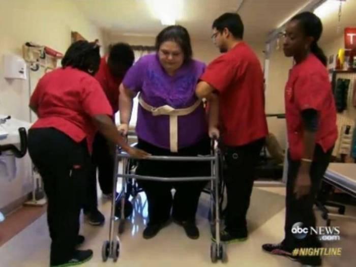Майра Розалес – женщина, которая сумела сбросить более 300 кг (7 фото)