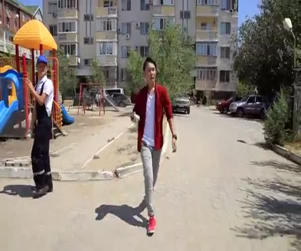 Uptown Funk в Казахстане