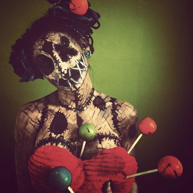 Пугающий боди-арт от Кори Виллет (16 фото)