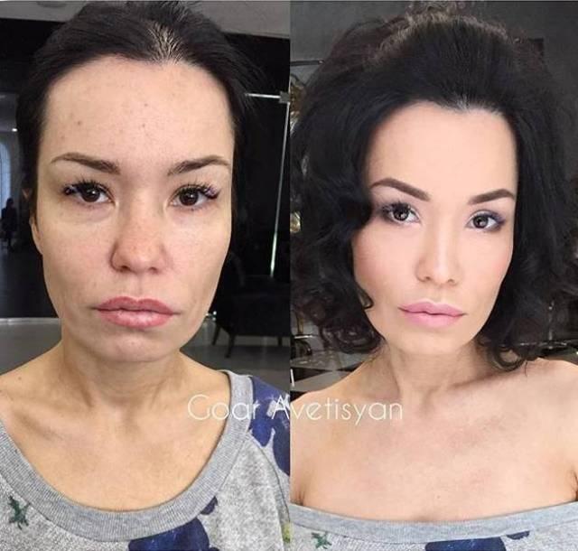 Сила макияжа (21 фото)
