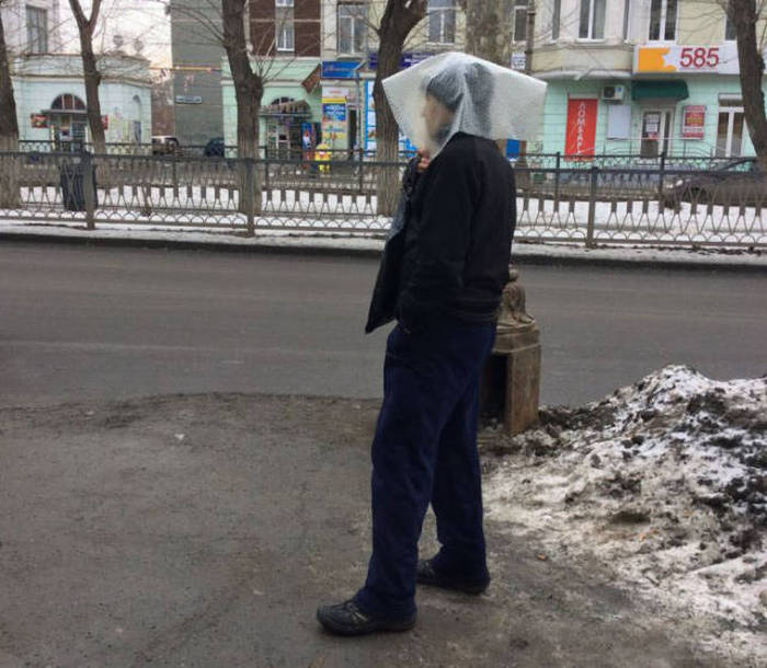 Фото, которые возможно было сделать только в России. Часть 10 (38 фото)