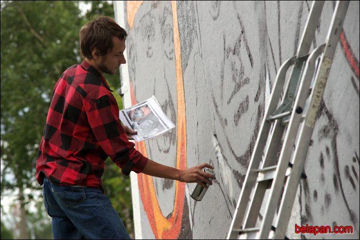 Граффити по-витебски (7 фото)