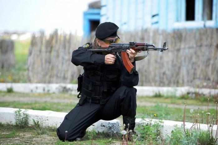 Женщины-военнослужащие армии Казахстана (33 фото)
