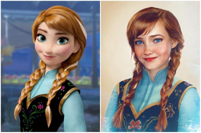 Какими бы были принцессы из диснеевских мультфильмов в реальной жизни (14 фото)