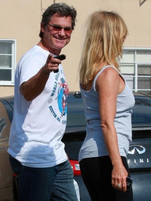 Курт Рассел и Голди Хоун – одна из самых крепких пар Голливуда (14 фото)