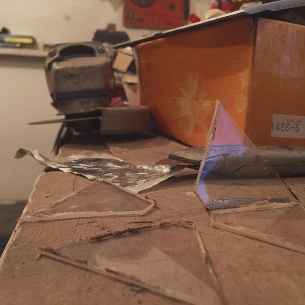 Пирамидка для голограммы своими руками (4 фото)