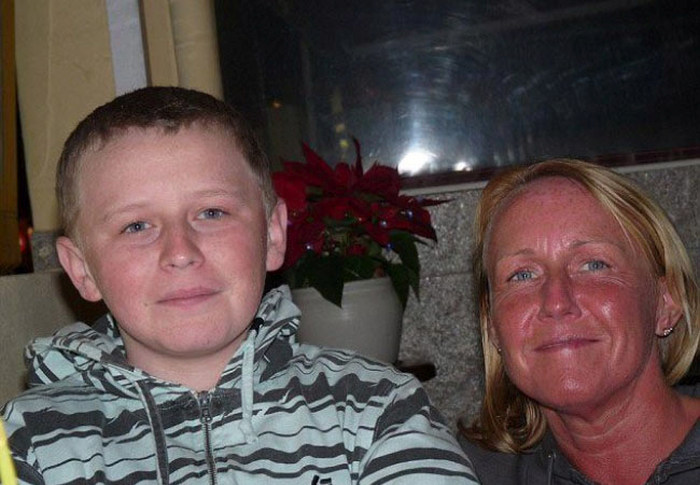 Великолепное преображение мамы и сына (8 фото)