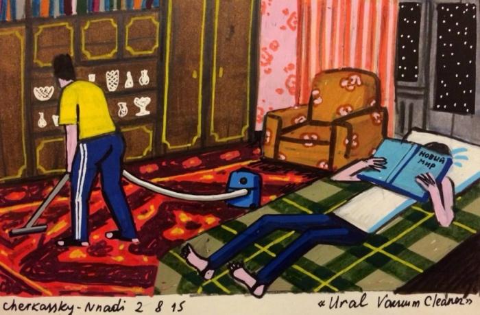 Наше детство в рисунках художницы Зои Черкасской (15 картинок)