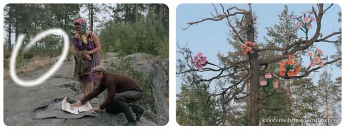 Киноляпы в комедии «Любовь и голуби» (8 фото)