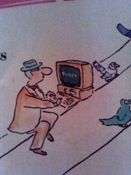 Пророчество в компьютерном журнале 1988 года (2 фото)