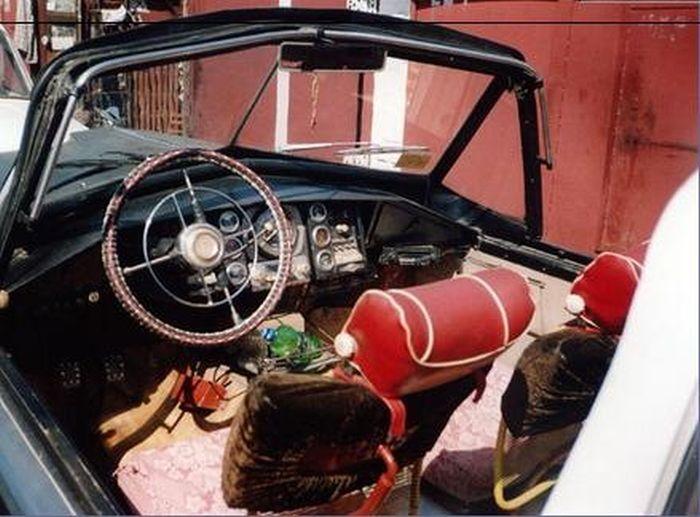 Уникальный кабриолет новокузнецкого пенсионера (11 фото)