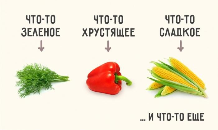 Простые рецепты идеального салата (2 картинки)