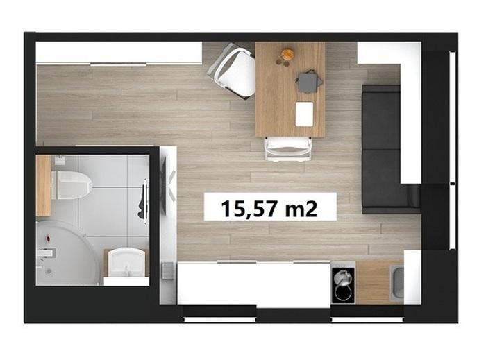 Микроквартиры в Польше обойдутся в 30 – 80 тысяч евро (10 фото)