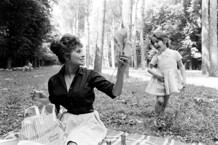 Фотографии Софи Лорен, которые никогда не публиковались (11 фото)