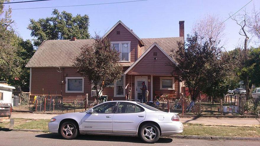 Волонтеры привели в порядок дом пожилого американца (6 фото)