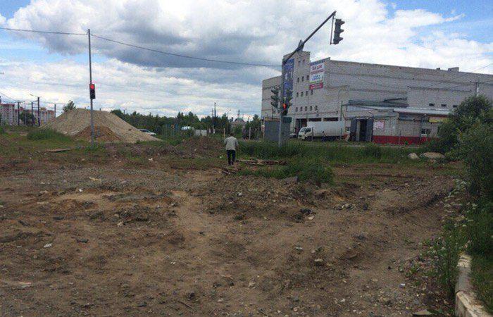 В Ярославле на пустыре установили светофор (3 фото)