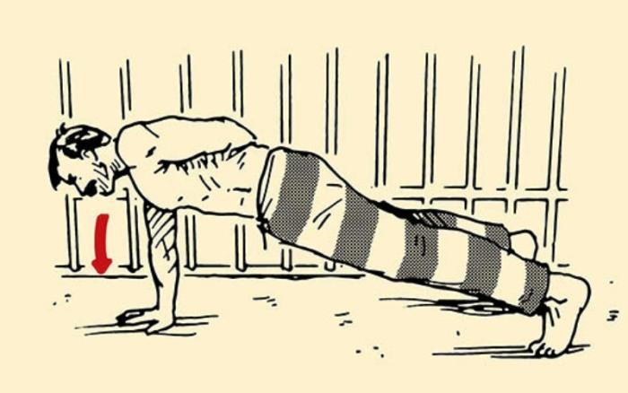 Высокоэффективные программы тренировок, разработанные заключенными (10 фото)