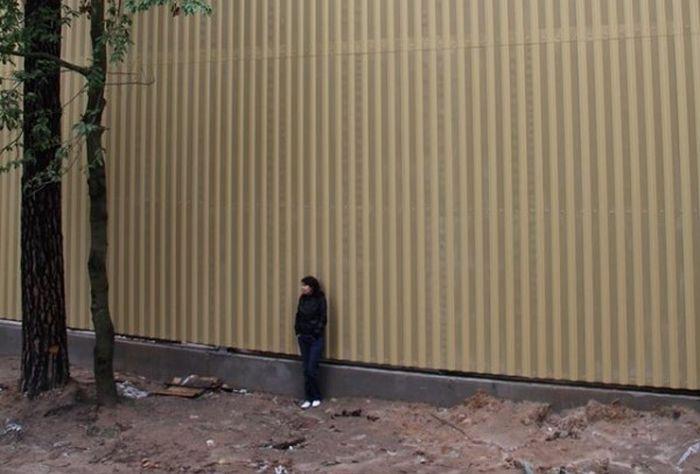 В Киевской области директор завода окружил особняк непреступной оградой (3 фото)
