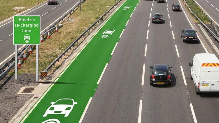 В Великобритании могут появиться «электрические» дороги (2 фото)