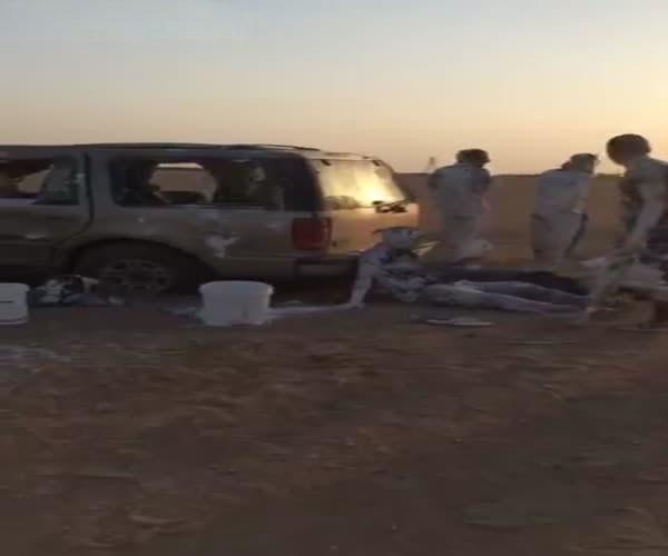 Пассажиры попали в аварию и «искупались» в краске