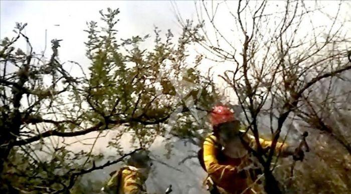 Камера мобильного телефона сняла гибель аргентинских пожарных (5 фото + видео)