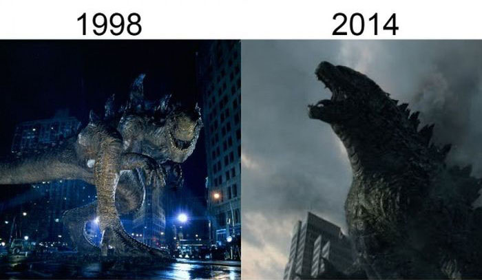 Как меняются герои фильмов в результате ремейков и перезапусков (19 фото)